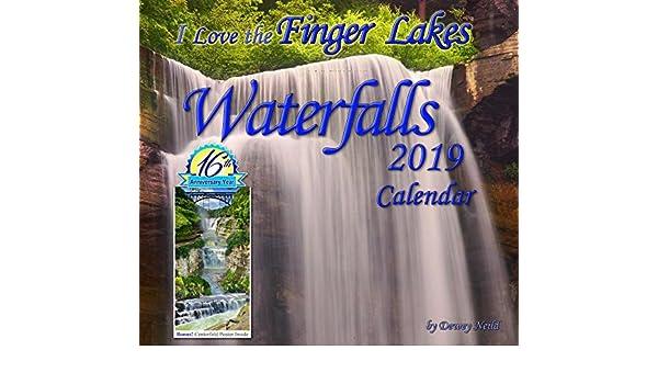 December 2019 Finger Lakes Casino Calendar Finger Lakes Waterfalls 2019 Calendar: Dewey Neild: 9780979989995