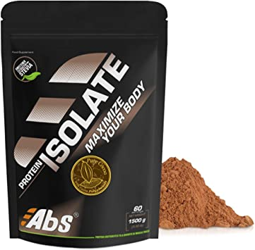 PROTEÍNA ISOLATE * 1,5 Kg * SABOR CACAO * Alta concentración en proteínas naturales