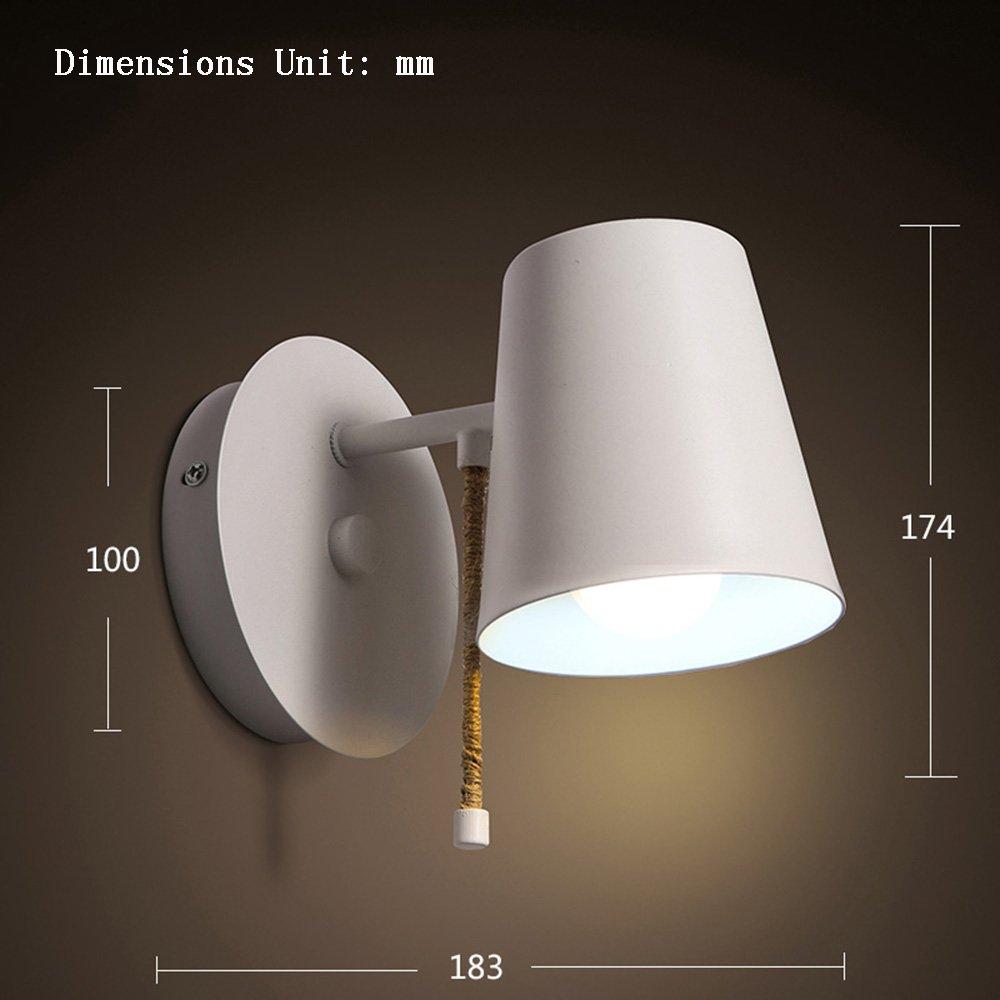 Flashing- Moderne Einfachheit Stil E27 Schmiedeeisen Spiegel Frontlicht, WC Badezimmer Spiegel Kabinett Lichter Wandleuchte ( Farbe   weißes Licht )