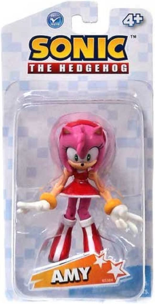 Amazon Com Sonic The Hedgehog 3 5 Inch Action Figure Amy Toys Games
