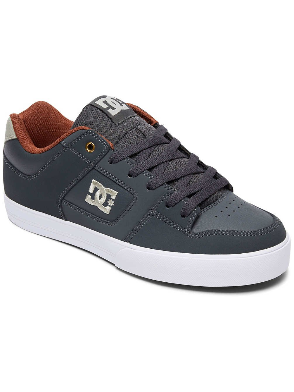 DC - Sneaker Pure 300660 - Black Athletic Red Bah 41 EU Gris