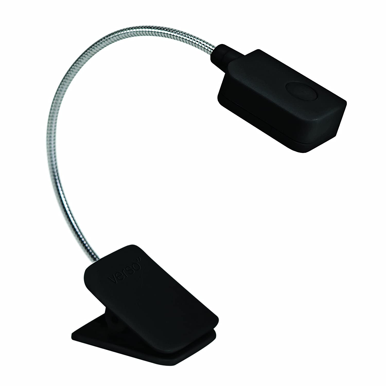 Verso Black E-Reader light Book Light LED Reading Light Reading Light