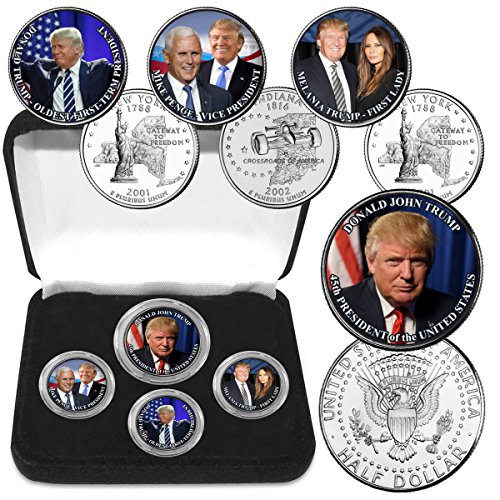 - Donald Trump Elected 45th Pres. Coin Collection