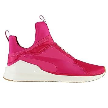 puma chaussures femmes rose velours