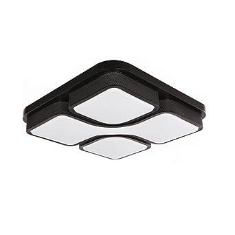 SAILUN 36W LED Modern Deckenleuchte Kaltweiss Deckenlampe Panel Lampe Energiespar Licht Fr Wohnzimmer Wandlampe Acryl