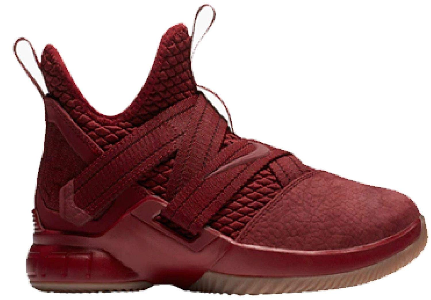 8ad0a749c4125 Galleon - NIKE Lebron Soldier XII SFG (GS) Girls Basketball-Shoes  AO2910-600 5.5Y - Team RED Team RED-Gum Light Brown