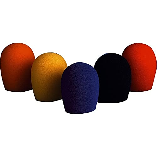 bonnettes multicolores 5 P. SM58 noir,jaune,orange,bleu