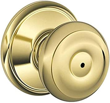 SCHLAGE BRASS PASSAGE LEVER HANDLE KNOBSET NEW IN BOX PRIVACY