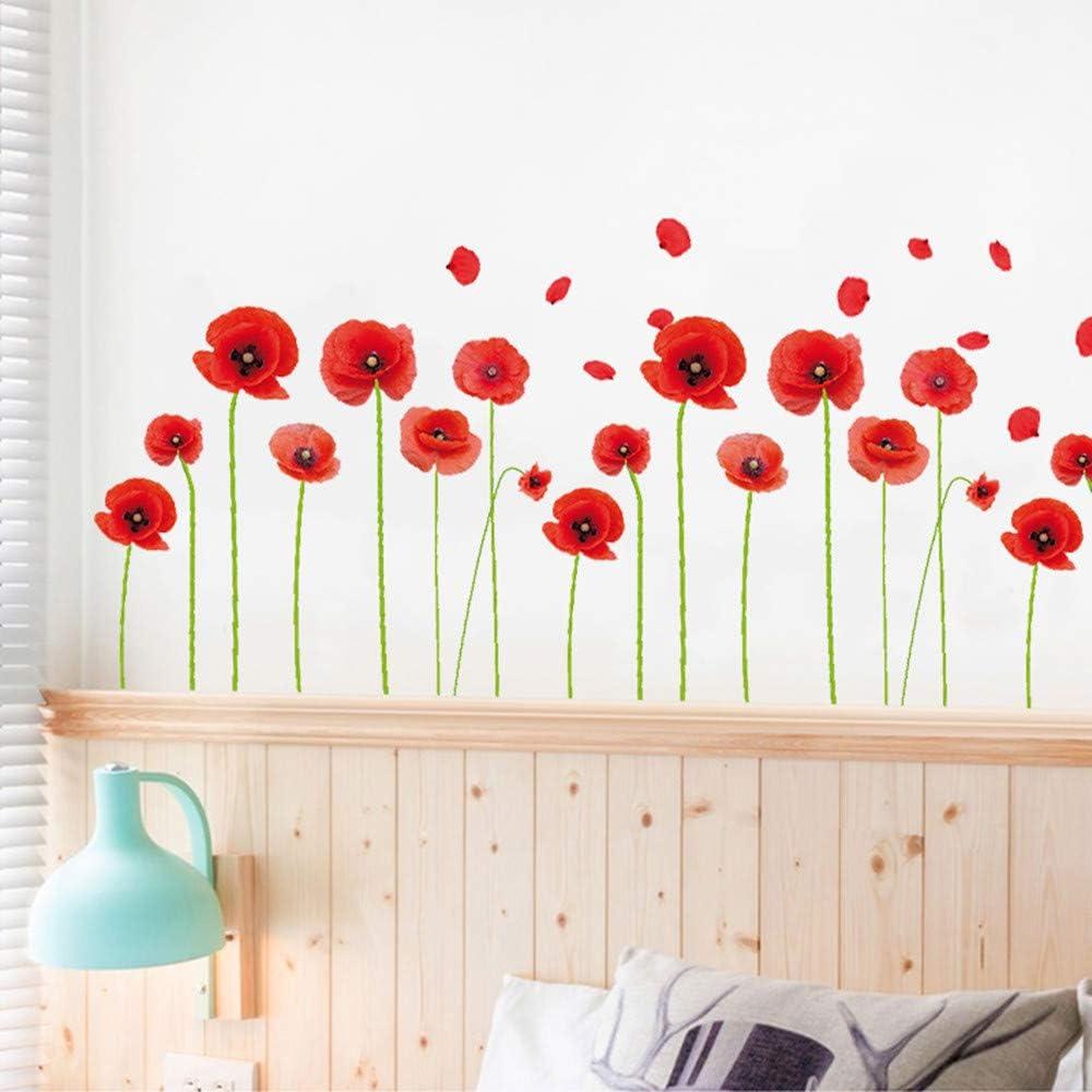 fond de chambre d/écoration de la maison chambre /à coucher Autocollants muraux amovibles pour salon TV