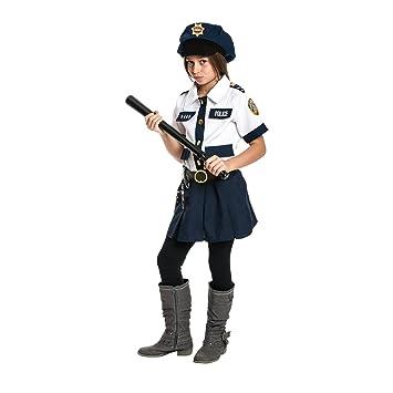 Kostumplanet Polizei Kostum Kinder Madchen Polizistin Kostum