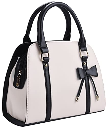 Amazon.com: Coofit Lady Handbag Little Bow Leisure Top-Handle Bags ...