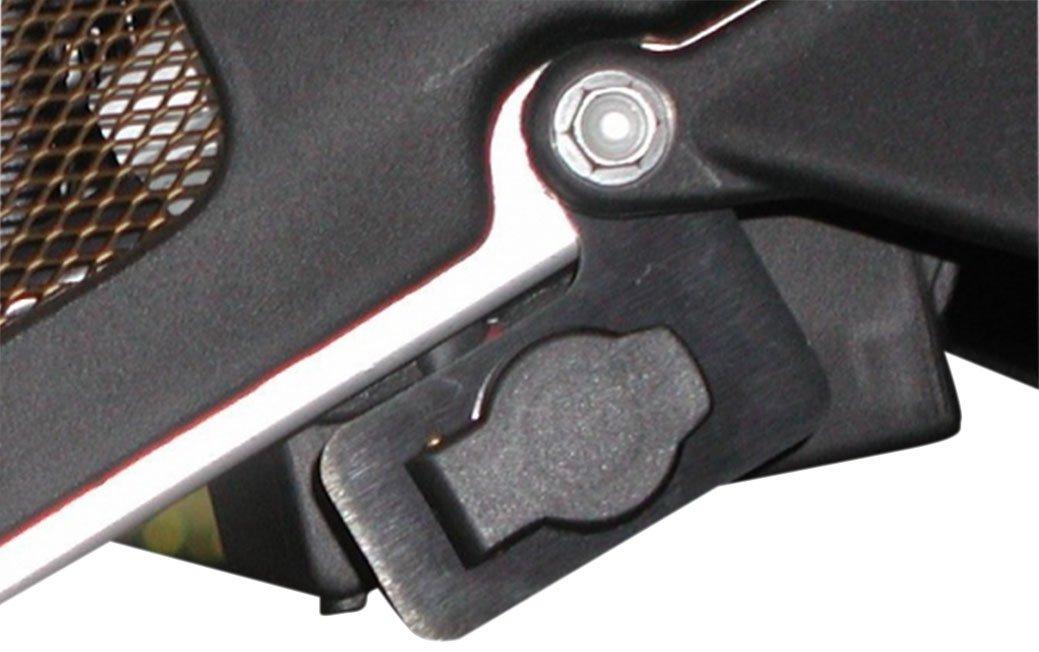 POWERLET Rear Set Type 2 24 Black Bolt On PKT-043-24