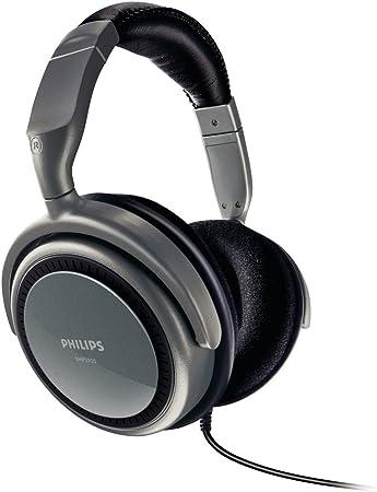 Philips Shp 2700 Hifi Kopfhörer Grau Bronze Schwarz Elektronik