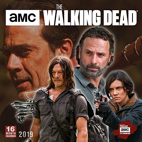 AMC The Walking Dead 2019 Wall Calendar - Continental Tv Sales