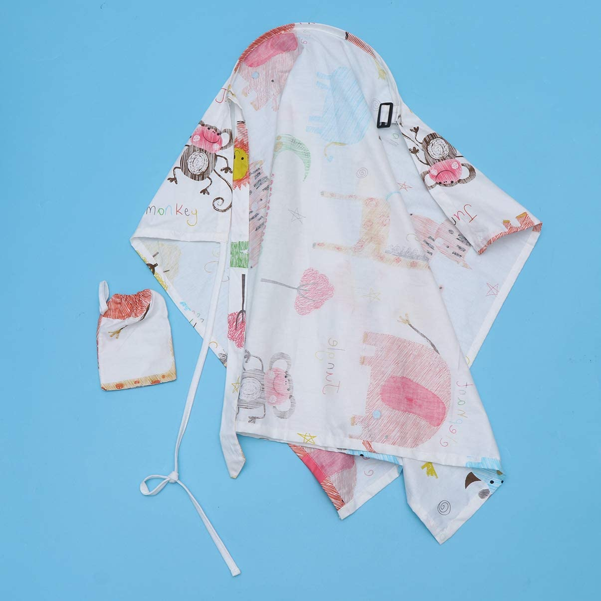 Healifty Baby Nursing Cover Breastfeeding Poncho for Baby Car Seat Canopy Shopping Cart Cover Stroller Cover Baby Shower Gift Crown