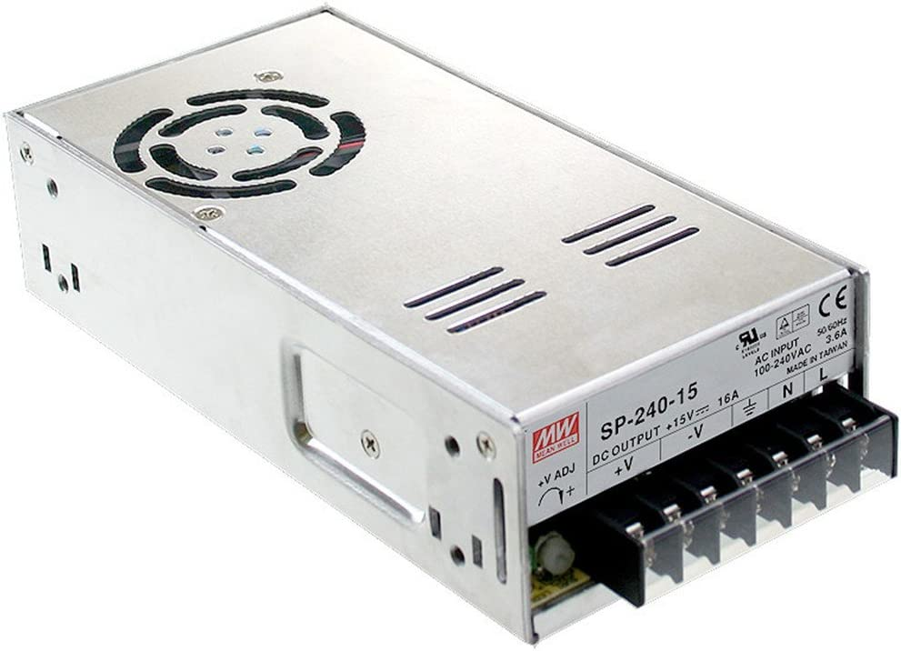 MW Mean Well SP-240-12 12V 20A 240W Single Output with PFC Function Power Supply