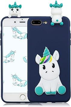 coque iphone 7 silicone 3d licorne