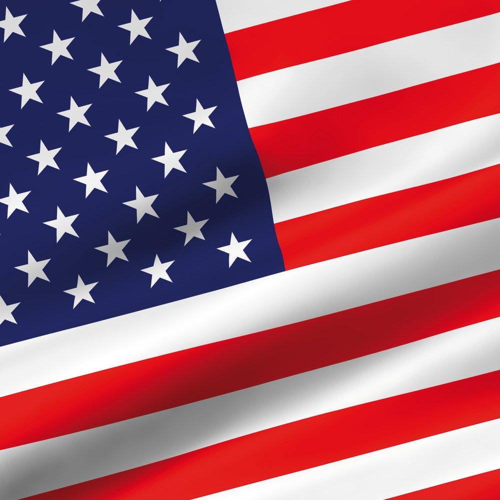DeinDesign Huawei Mate 9 Tasche Leder Flip Case H/ülle Usa Amerika Flagge Flag