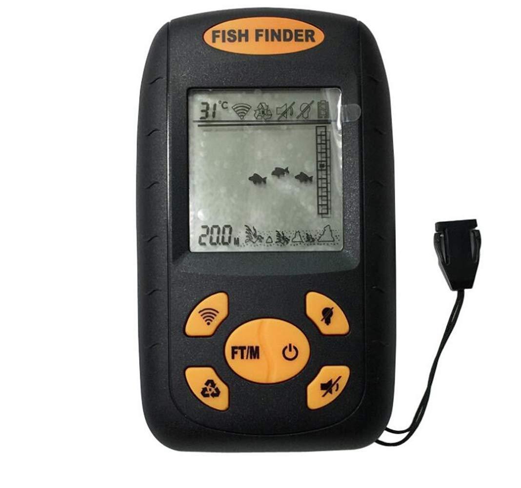 DDPP Buscador de Peces Detector de Pescado ultrasónico por Cable Wireless Fish Finder sondas: Amazon.es: Deportes y aire libre