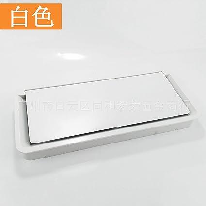 Pasacables con Tapa Caja de hilo de escritorio de plástico caja ...