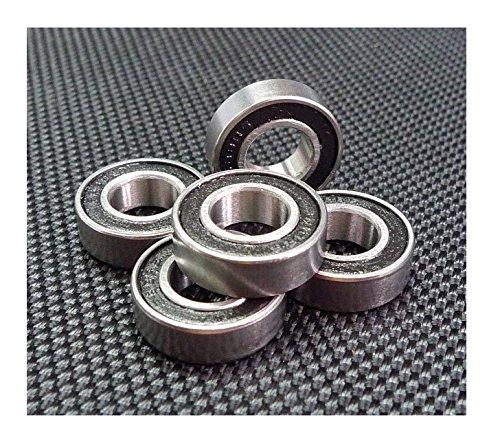[10 PCS] 6800-2RS (10x19x5 mm) Rubber Sealed Ball Bearing Bearings 6800RS (6800rs Bearing)