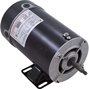 AO Smith/Century Electric Above Ground, Two-Speed.75 / .10HP, 3450/1725RPM, 115V, 8.8/2.6 AMPS, 1SERVICE Factor, Through Bolt Flange
