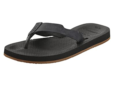 f329d058f384f1 Havaianas Men s Urban Special Flip-Flops Black 39-40 ...