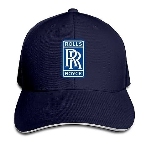 baskets pour pas cher 2fbbb 48606 Hittings Rolls Royce Sandwich Baseball Caps For Unisex Adjustable Navy