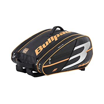 Bullpadel Paletero BPP19005 Big Capacity 2019 Negro, Adultos Unisex, Multicolor, Talla Unica