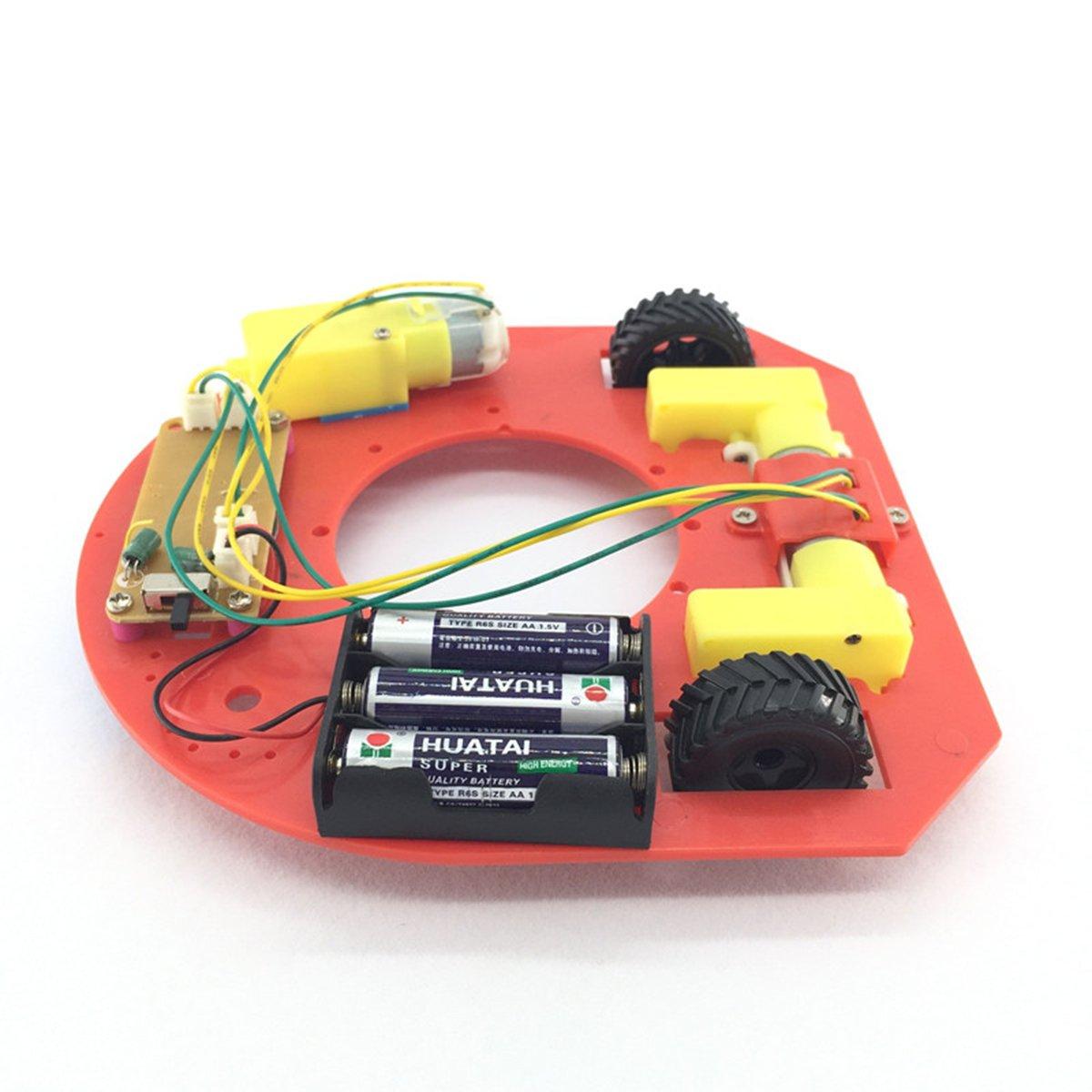 GreenMoon DIY Robot Football Car Kit with Remote Control