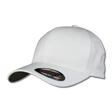 98a57f4a43f Casquette flexfit casquette blanc vierge - Blanc - L  Amazon.fr ...