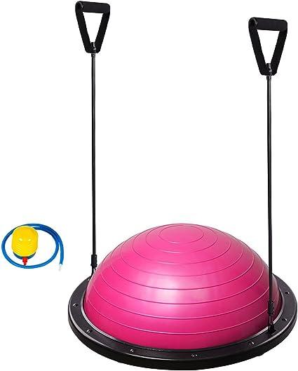 Tabla de equilibrio con medio balón, para entrenamiento de yoga ...
