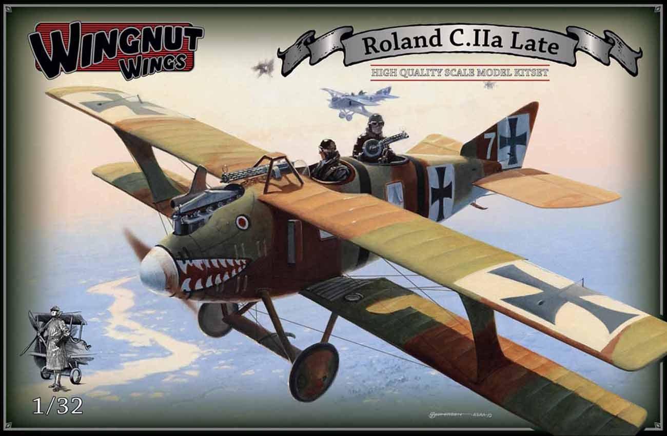 ウィングナットウィングス 1/32 ローランドC.II a 後期型 プラモデル B00LYRB2O6