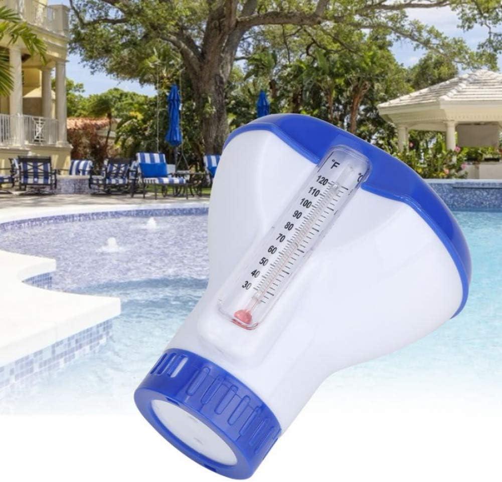 mit Thermometer schwimmend Bad Aquarien Spas 1,6 cm a Whirlpools Poseca Schwimmendes Poolthermometer Wasser schwimmende Pillen