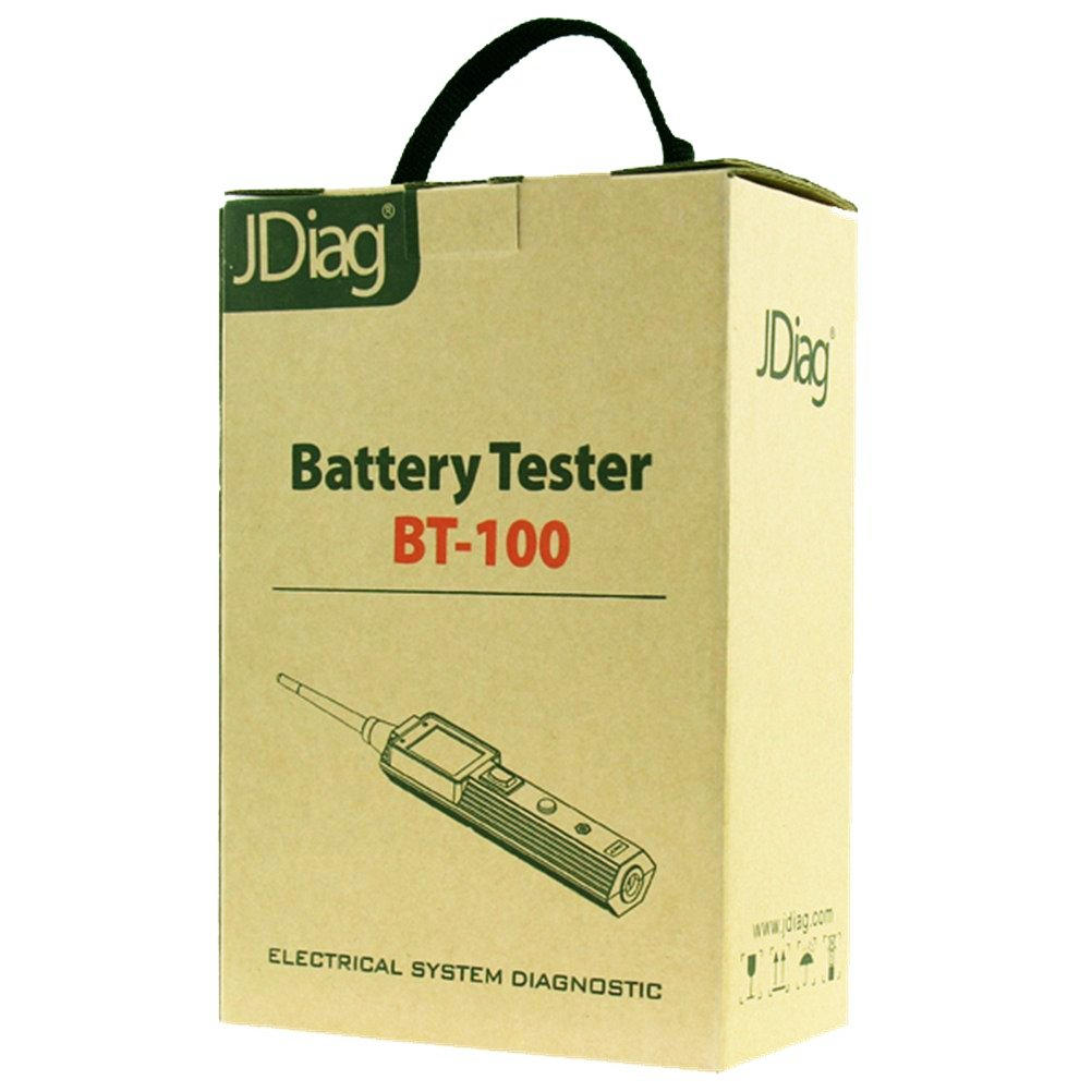 JDiag BT-100 Vehicle Electrical Circuit Tester With 10m Extension Cable Test Short Circuit, Leakage, Resistance Voltage Range 9-70V. by JDiag (Image #9)