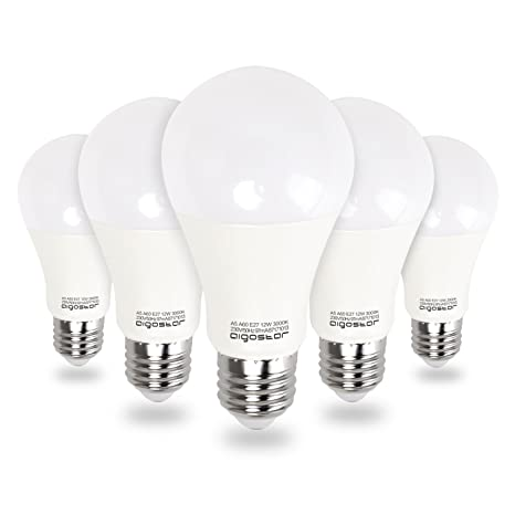 Aigostar - Bombilla LED E27, 12W equivalente a 100W, Luz calida 3000K, 984lm