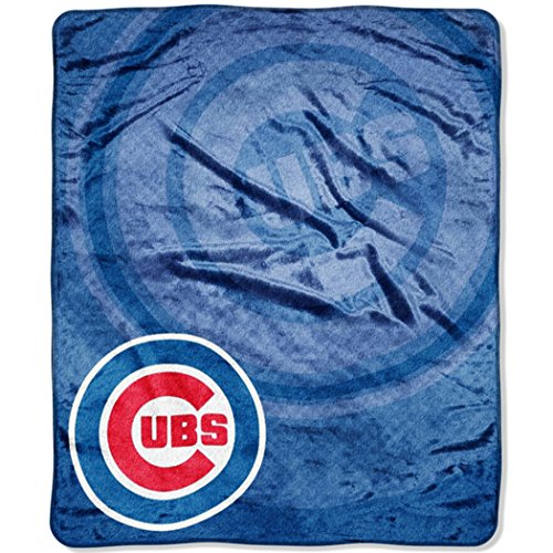 - MLB Chicago Cubs Retro Plush Raschel Throw, 50