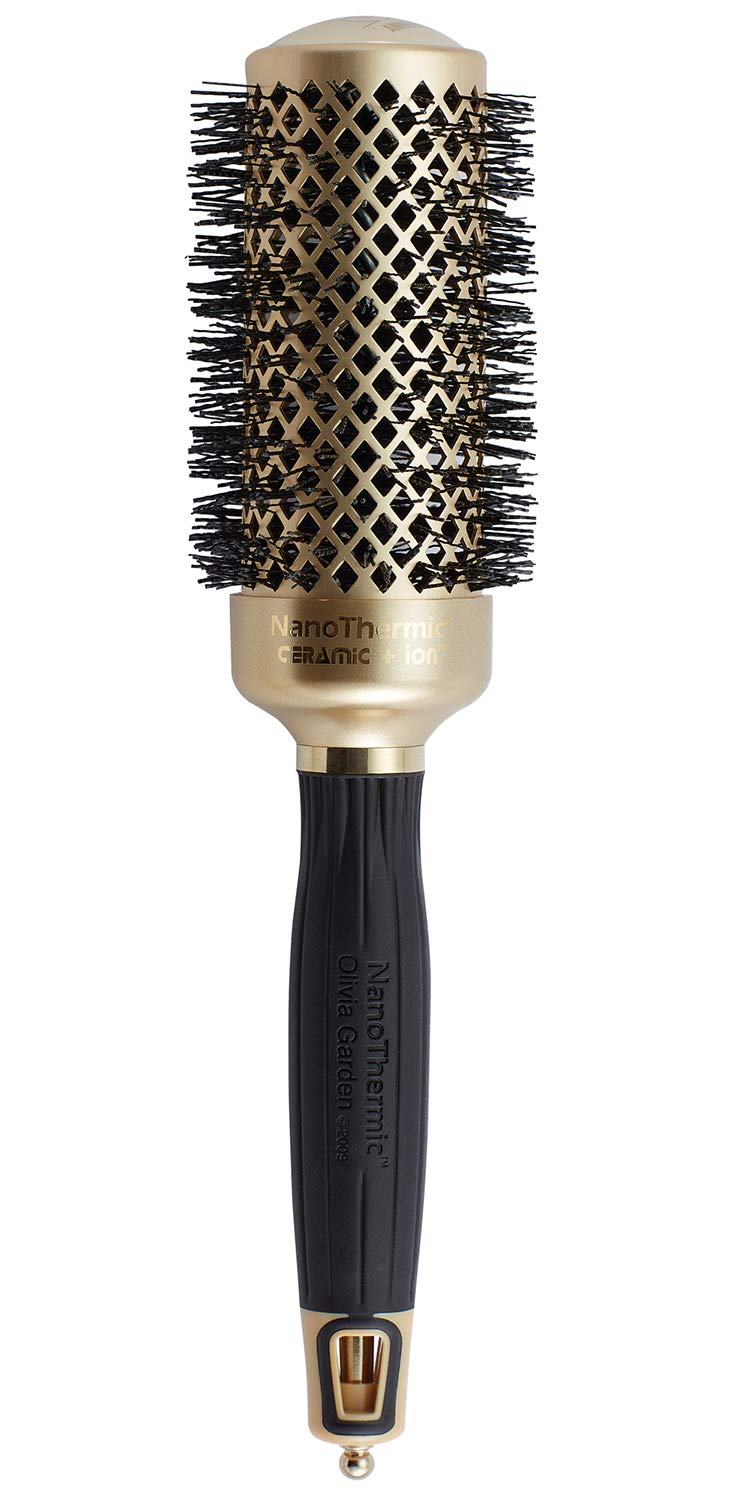 Olivia Garden NanoThermic Ceramic + Ion Hair Brush - 50th Anniversary Special Edition (not electrical)