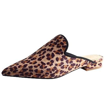 Jushee Frauen Damen Chic Velvet Backless Slip auf Loafers Flache Schuhe Stickerei Schwarz Spinne Handmade Mule Pantoffeln 46 oUp8prlYzg