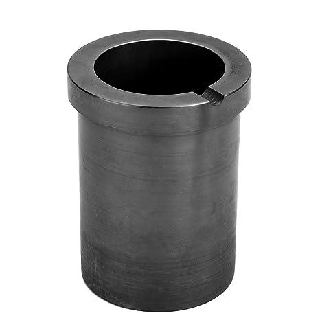 KKmoon de alta pureza de fusión Crisol de grafito para dorado y plateado Metal de fundición
