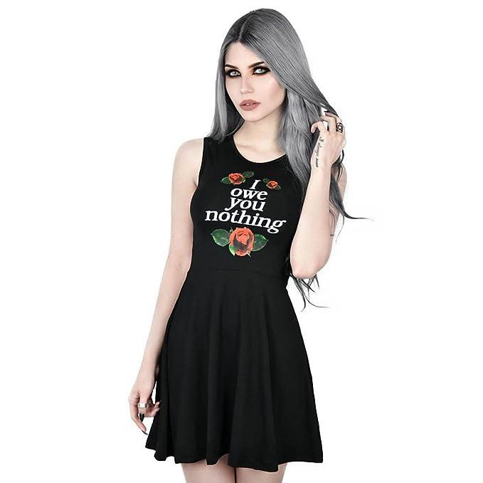 Killstar - Vestido - Skater - para Mujer  Amazon.es  Ropa y accesorios f63050e38720