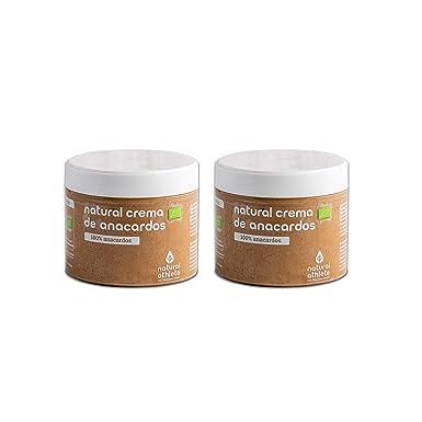 Crema de Anacardos BIO -Natural Athlete- 100% solo Anacardos - 100% natural y orgánico- sin azúcar añadido - sin gluten - sin lactosa y sin aditivos. ...