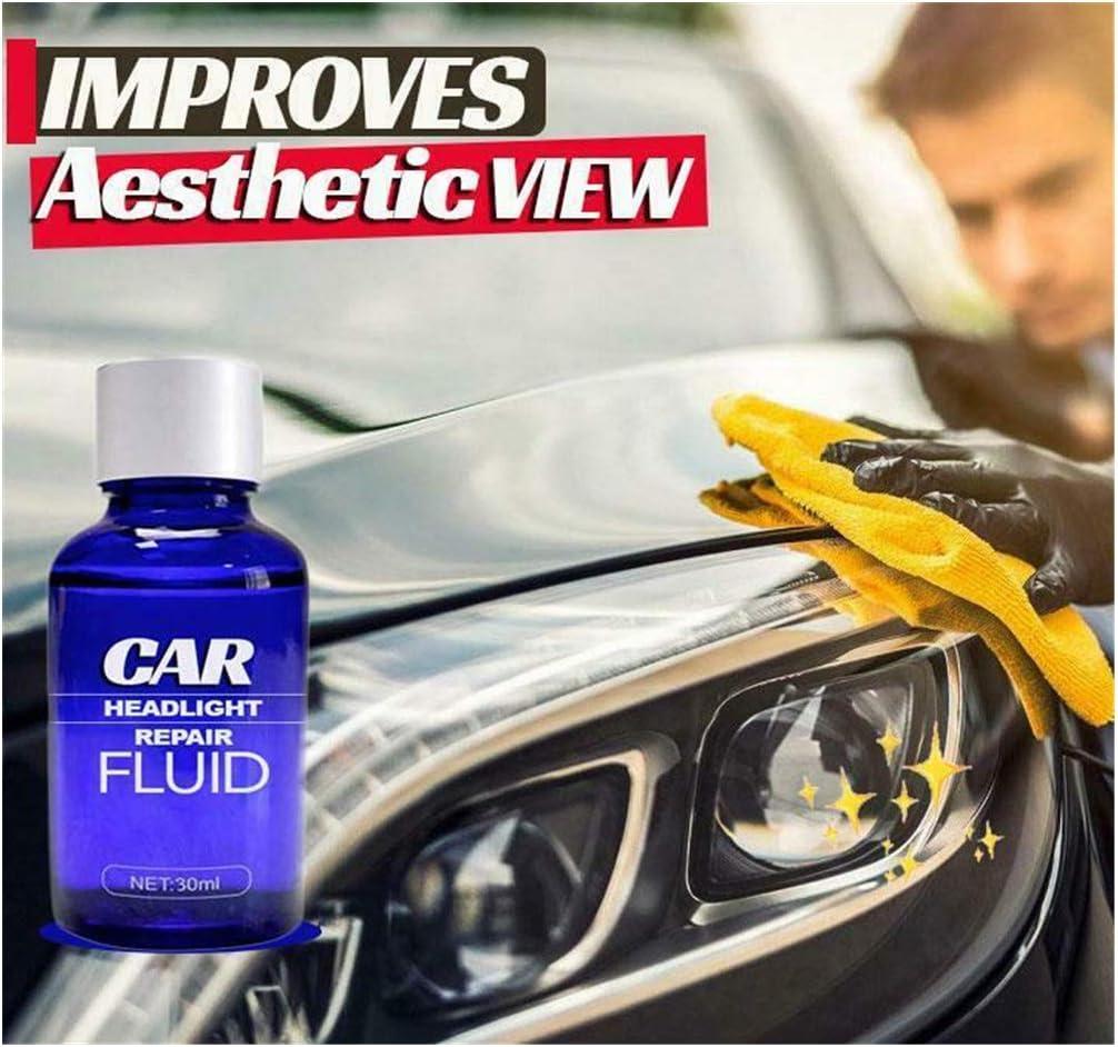 Car SUV Headlight Plastic Lens Restoration Restorer Professional Polishing Tool