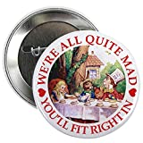 CafePress - MAD HATTER'S TEA PARTY 2.25