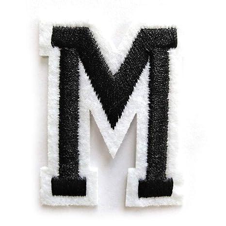 26 parches de letras bordadas A-Z; insignia de fieltro ...