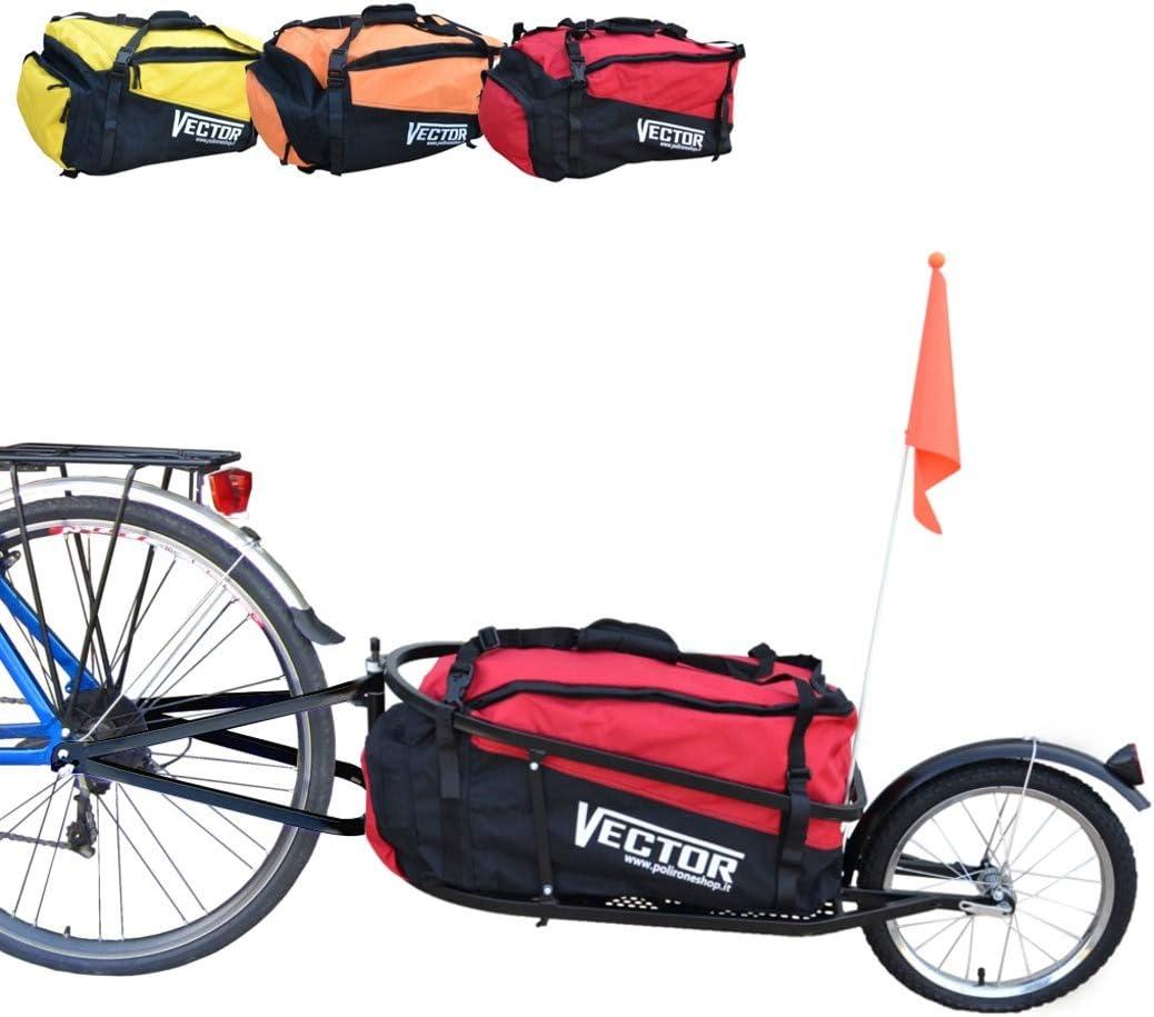 Polironeshop Vector Remolque para Bici Bicicleta de trasporte por ...