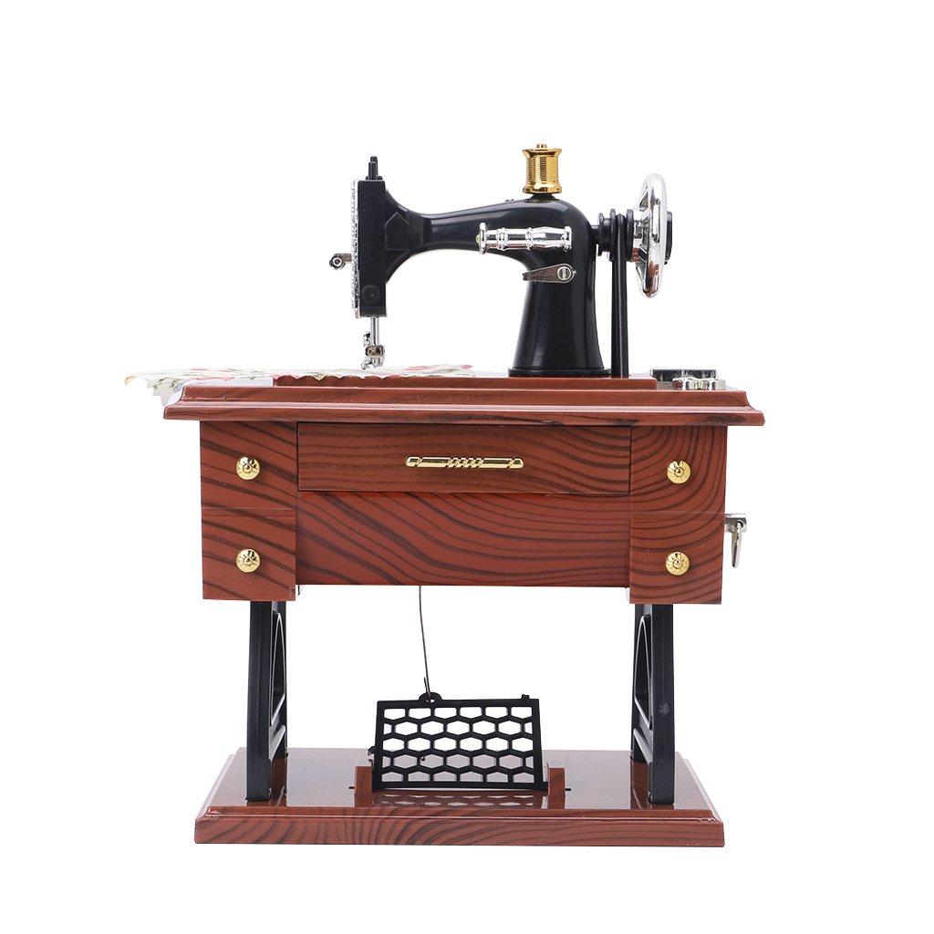 Lunji Macchina da Cucire, Modello Carillon, Romantico Carillon retrò Romantico Carillon retrò