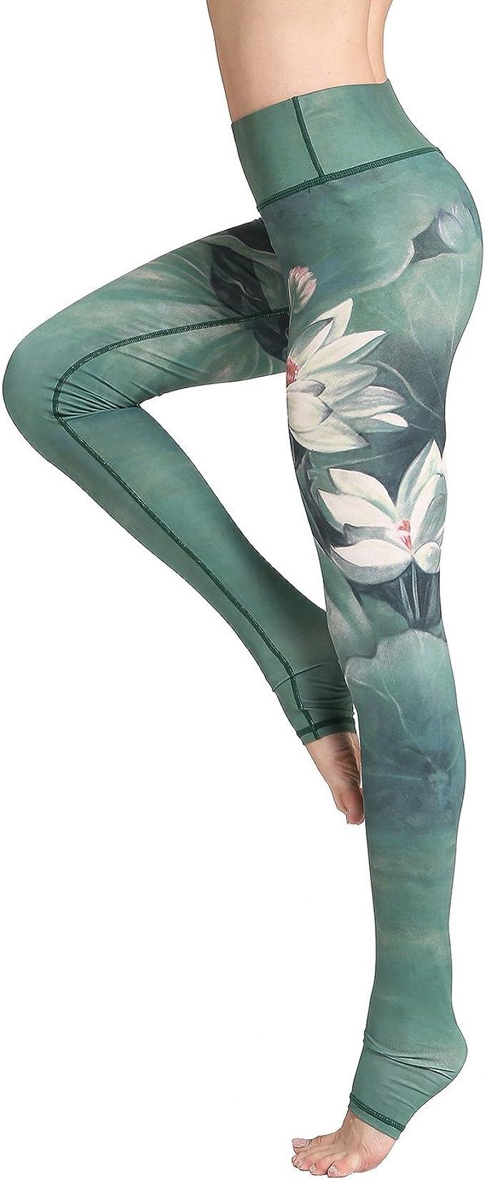 Amazon.com: Witkey - Leggings de yoga para mujer con ...