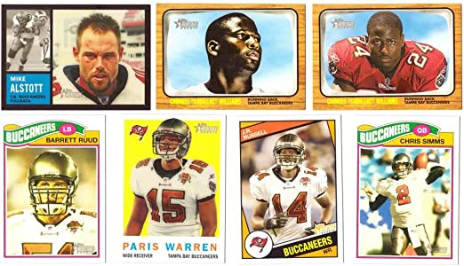 amazon com 2005 topps heritage football team master set tampa bay buccaneers collectibles fine art amazon com