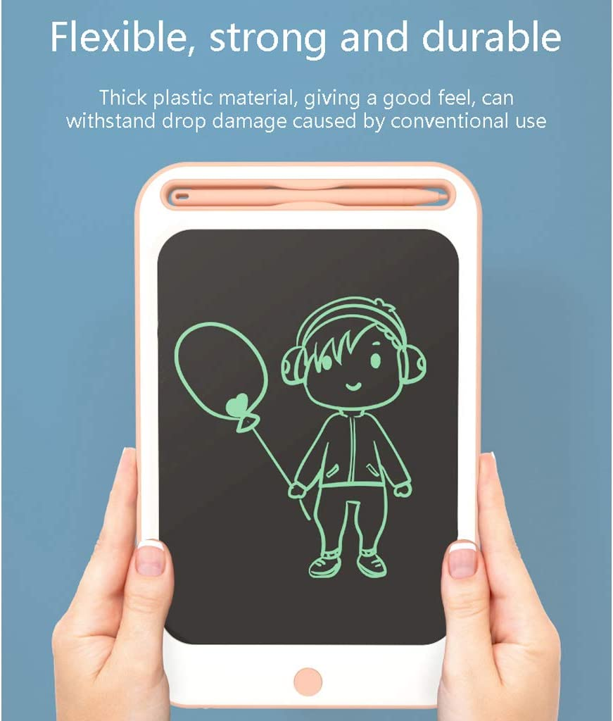 45 /° Edge Chamfering WHJ@ Child LCD Writing Board Anti-Erase Function Portable LCD Tablet,One-Click Clear Flexible LCD Screen